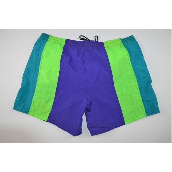 9b5fdbb331 Laguna Swim | Vintage 90s Men Xl Summer Trunks Shorts Black | Poshmark